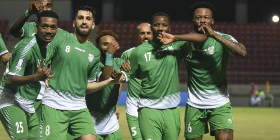 فرحة نجوم الاتحاد بالفوز وبهدفي رشيد جابر